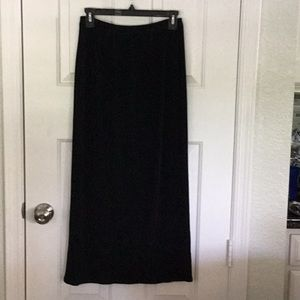 Chico's Private Edition black knit skirt